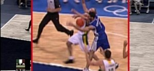 Officiate unsportsmanlike foul in basketball