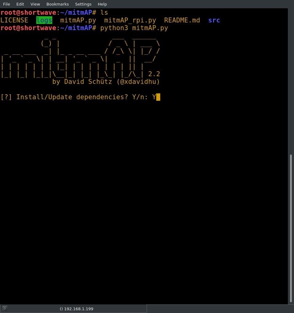 How to Create an Evil Access Point with MitmAP