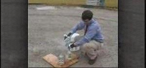 Use liquid nitrogen