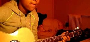 "Play ""Ode to My Family"" by Cranberries on the guitar"