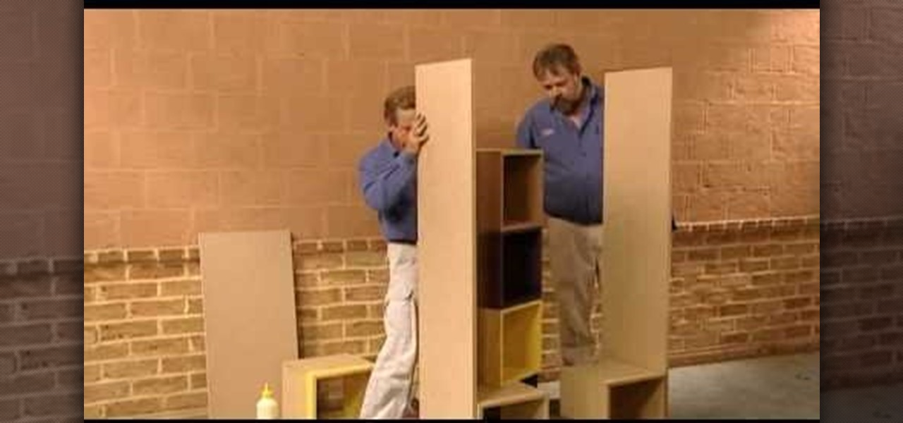 How To Build A Small Room Divider Furniture Woodworking
