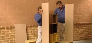Build a small room divider