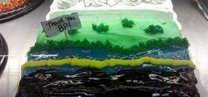BP Cake Makes Oil Spill Look Delicious