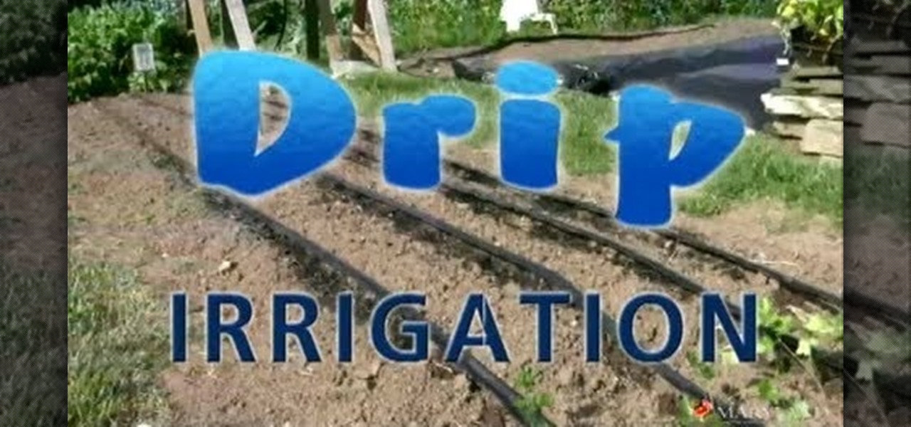 How To Install A Drip Irrigation System Using Your Existing