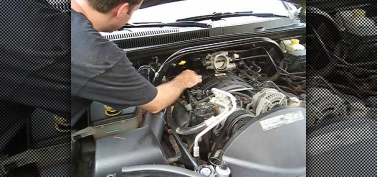 Change the spark plugs on a 4.7L V8 Jeep engine « Auto ...