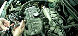 Diagnose a cracked cylinder head / blown head gasket