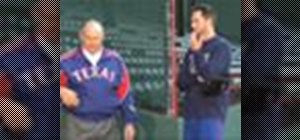 Keep pitching arm loose on off-days with Nolan Ryan