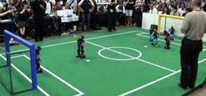 RoboCup Soccer Final