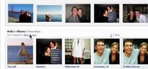 Change photo album privacy settings on Facebook