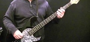 "Play the song ""China Girl"" by David Bowie on the bass"