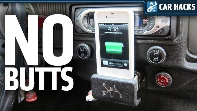 Don't Smoke? Turn Your Car's Ashtray into a DIY Smartphone Dock
