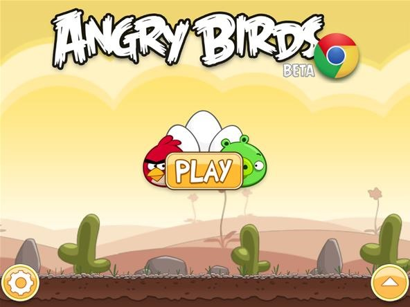 Angry Birds Now on Chrome (Plus the Epic Battle Between Man and Robot)