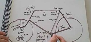 Measure out a good sized bicycle frame