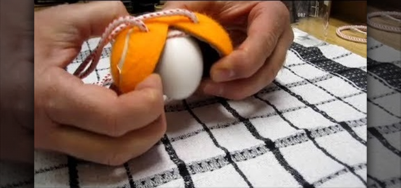Scramble an Egg Inside Its Shell Using a Tennis Ball