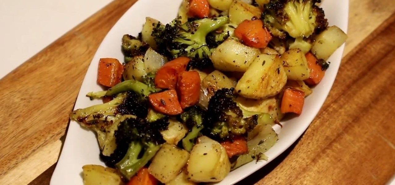 Best Roasted Veggies Recipe