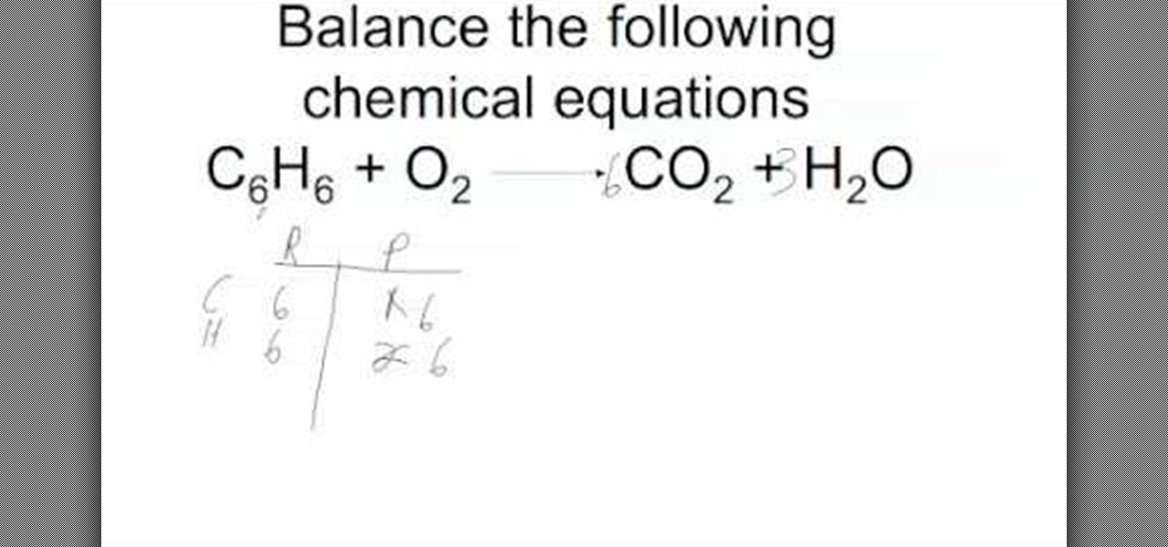 How to Balance chemical equations the right way u00ab Science ...