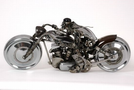 The Astonishing Car-Part Art of James Corbett