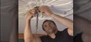 Hang a chandelier