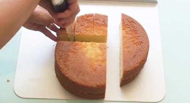 how to shape cakes