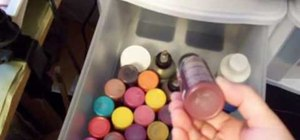 Store cheap acrylic paint