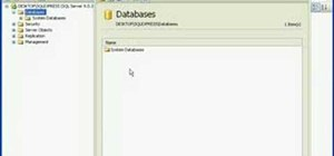 Attach or detach a database in SQL Server 2005 Express