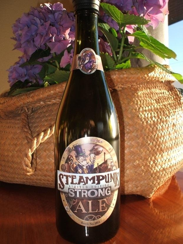 Get Steamdrunk with Steampunk... Wine?