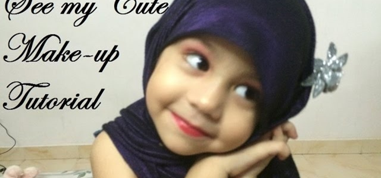Makeup Ideas makeup for little girls pics : How to Pakistani Cute Little Girl Makeup Tutorial Â« Makeup ...