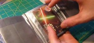 Make a complete duct tape wallet with an ID holder
