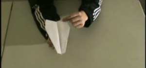 Make a cool trick paper airplane