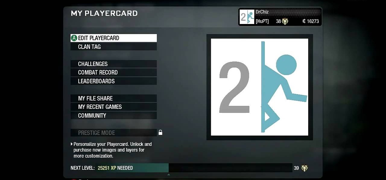 how to draw the portal 2 logo in the call of duty black ops emblem editor 171 xbox 360 wonderhowto