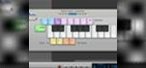 Use built-in software instruments in GarageBand '09