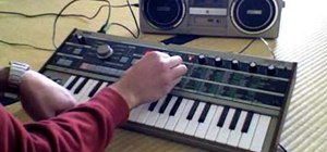 Create the Vangelis piano sound from Blade Runner on a MicroKorg