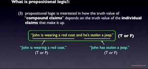 Understand propositional logic