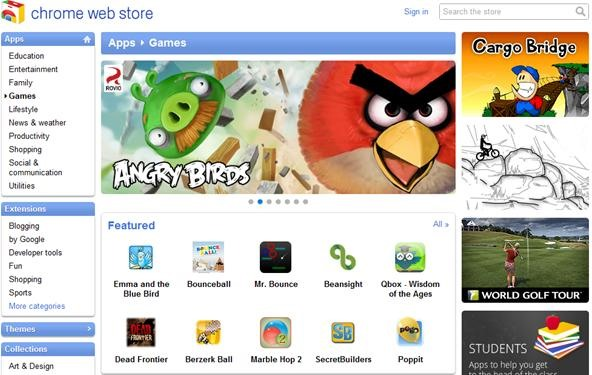 How to Get Angry Birds and Other Games on Google Chrome for