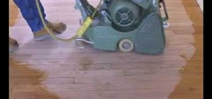 Repair a stain damaged floor