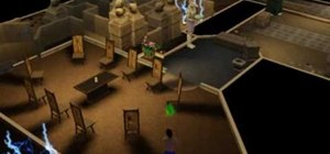 Cleanse your sim of the mummy's curse in Sims 3