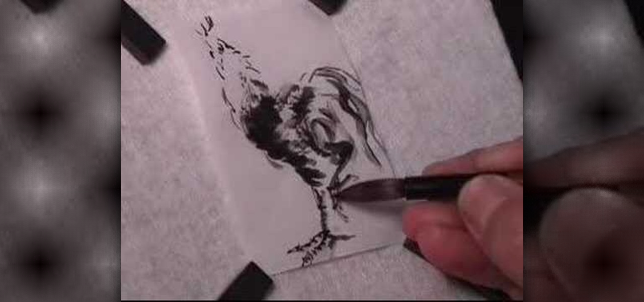 How To Draw A Rooster In Chinese Brush Painting 171 Painting