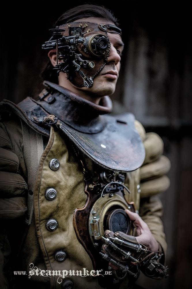 Steampunk Fashion - Timetravelers and Warriors