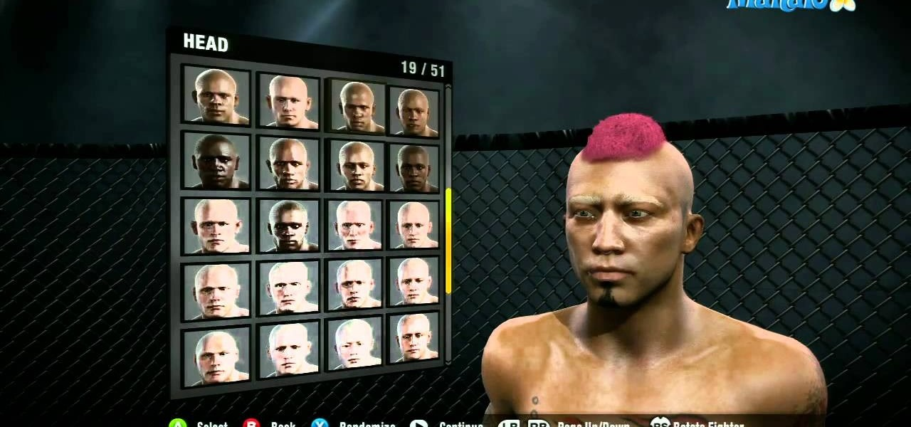 how to customize your character in ea sports mma for the xbox 360 rh xbox 360 wonderhowto com EA Sports Games EA Sports MMA Roster