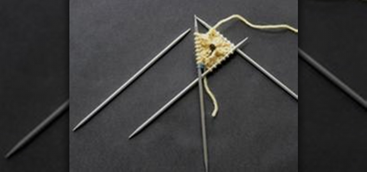 Joining Knitting In The Round Double Pointed Needles : How to knit on double pointed needles « knitting crochet