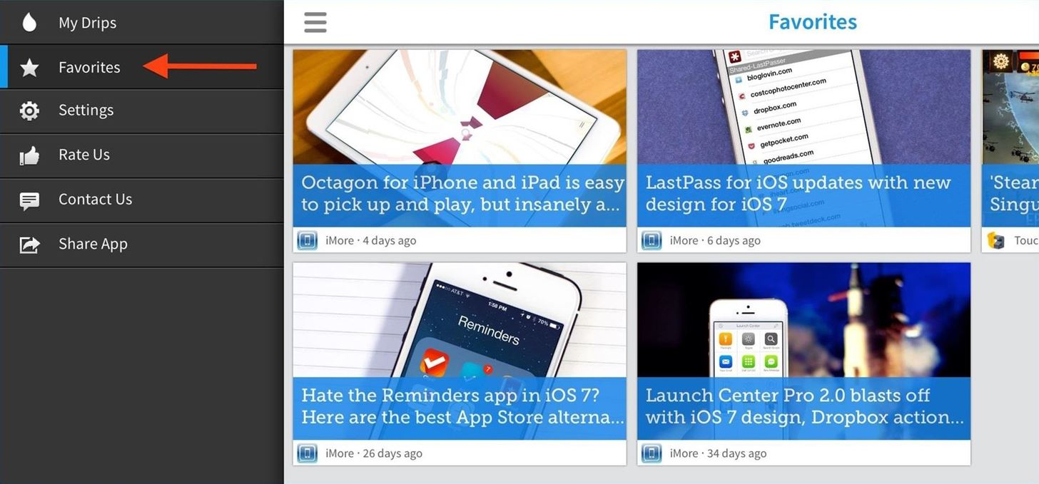 Drippler's New iOS App Tells You Everything You Need to Know About Your iPad or iPhone