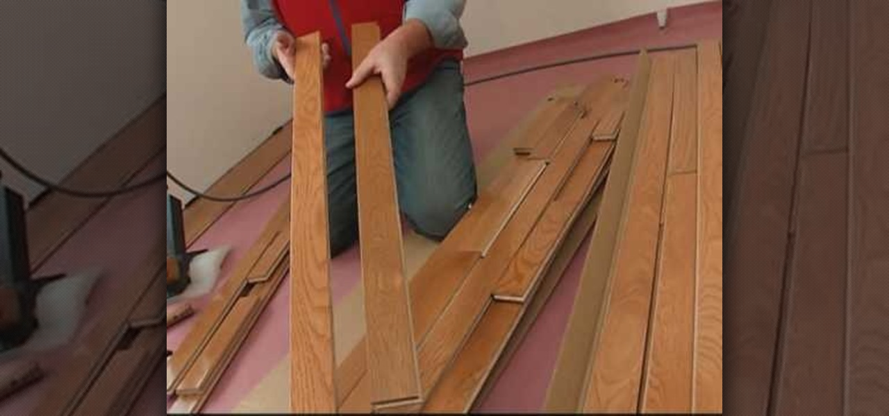 How To Install A Solid Hardwood Floor With Lowes Construction