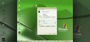 Create desktop icons in Windows XP