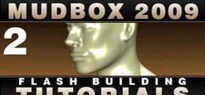 Create and import custom 3-D mesh models using Mudbox 2009