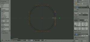 Make a tank track in Blender 2.5