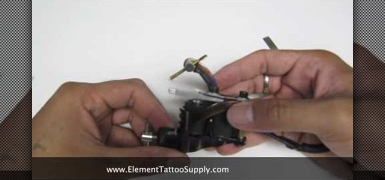 How To:            Insert an O-ring into a tattoo machine
