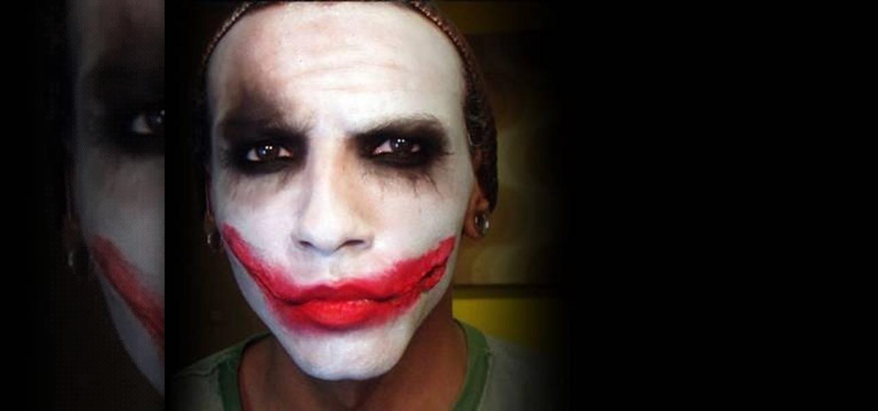 How To Recreate Heath Ledger Joker Makeup Makeup
