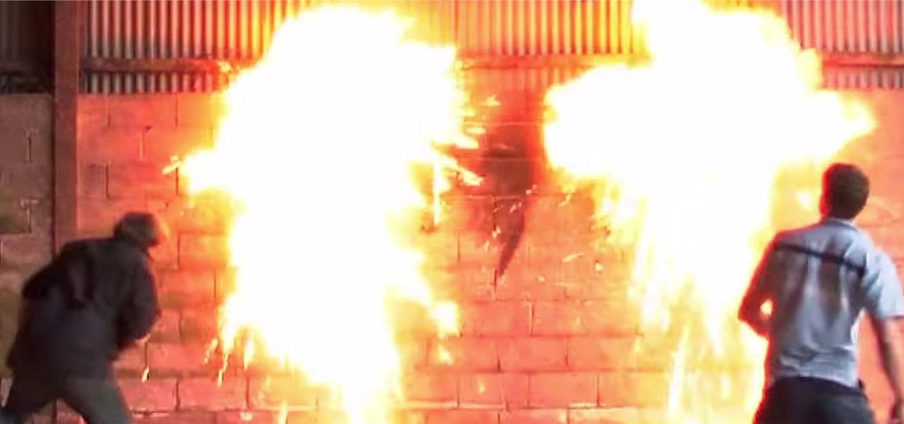 Watch Petrol Bombs Exploding in Slow Motion