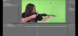 Remove a green screen with Keylight in Adobe After Effects CS5
