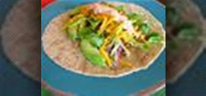 Make bulgar wheat vegetarian tacos